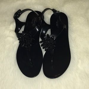 Coach Jelly Sandals (Make Offer)